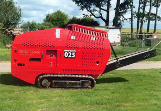 Photo of our BavTrac25 crusher
